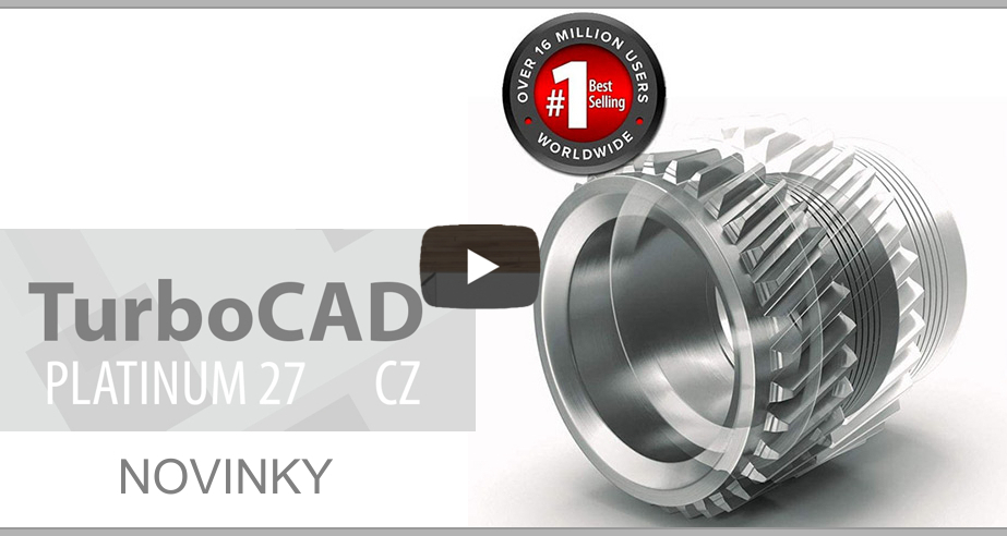 TurboCAD 27 video SPINAR software2E - TurboCAD Designer 2D 27 CZ