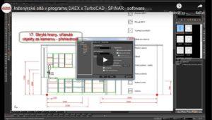 inzenyrske site v programu DAEX TurboCAD 300x170 - Videoprezentace