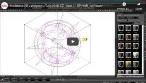 modelace 3D v programu TurboCAD 300x170 - Videoprezentace