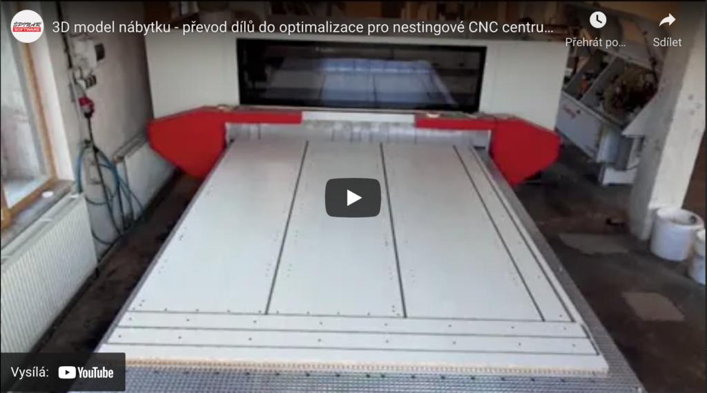 3D model nabytku 1024x570 - DAEX CUT Optimalizace propily a CNC