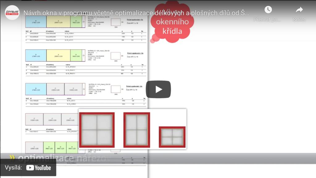 navrh okna 1024x578 - DAEX CUT Optimalizace propily a CNC