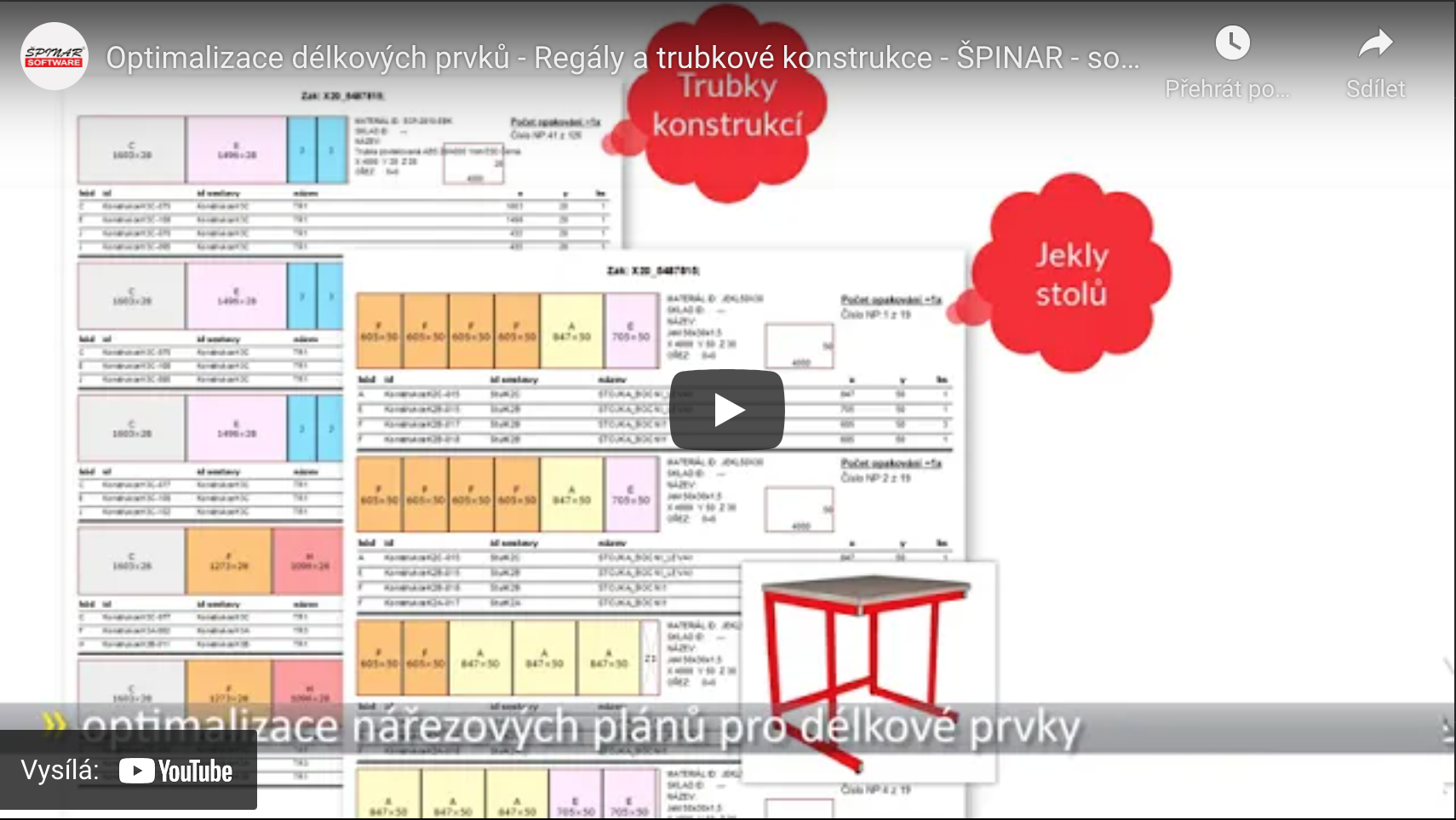 optimalizace delkovych prvku - DAEX CUT Optimalizátor Basic 21