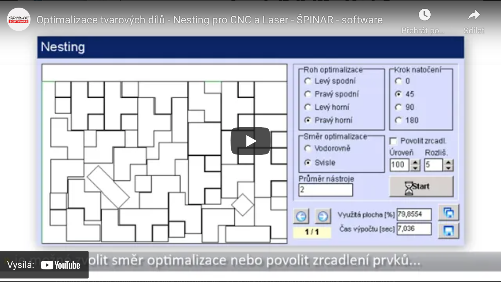 optimalizace tvarovych dilu - DAEX CUT Optimalizátor Basic 21