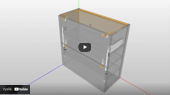 Vyklopna Dvirka Aventos BLUM DAEX TurboCAD SPINAR  - DAEX IMPORTÉR z Konfigurátoru korpusů od firmy BLUM