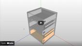 Zasuvkova SK Tandembox BLUM DAEX TurboCAD SPINAR  - Praktické zkušenosti s Konfigurátorem nábytku a DAEX DESIGN