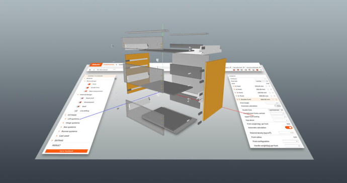 blum konfigurator 690xxx - Praktické zkušenosti s Konfigurátorem nábytku a DAEX DESIGN