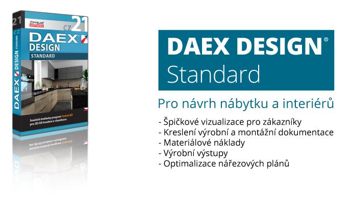 DAEX standard - DAEX DESIGN Standard v akční ceně