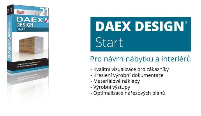 DAEX start - DAEX DESIGN Start v akční ceně