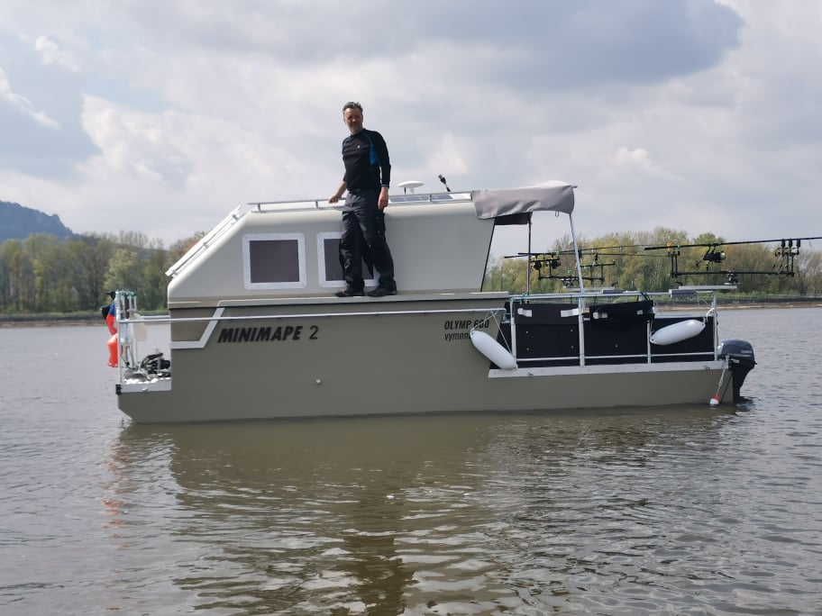 Realizace lodě firmy Vymona navržené v TurboCADu