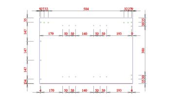 A3 rychle kotovani vyrobni dokumentace dily DAEX DESIGN pro CNC pily narezove plany 1 - DAEX DESIGN Plus 22