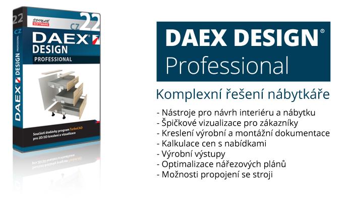 DAEX professional 22 banner - DAEX DESIGN Professional 22 v akční nabídce